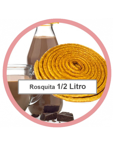 Rosquita + 1/2 litro de chocolate